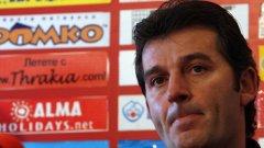 """Емил Костадинов е вторият спортен директор в ЦСКА, въпреки че до преди година """"червените"""" нямаха нито един"""