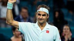 Федерер ще играе за 7-и път на полуфиналите в Маями. Той е достигал до тази фаза в Мастърс турнирите общо 65 пъти и има 27 титли.