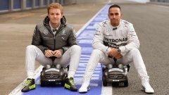 Пилотите на Mercedes доминират от началото на 2014, но световните шампиони просто си свършиха най-добре работата. За разлика от техните съперници...