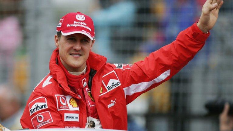 Шумахер не е виждан публично откакто претърпя инцидент по време на ски в края на 2013-а.