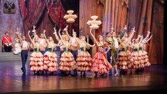 """Спектакълът """"Дон Кихот"""" е сред най-ярките и велики творби сред класическите балети, поставян в различни варианти по целия свят. Ако в романа на Сервантес печалният рицар Дон Кихот е в основата на сюжета, то в балета има второстепенна роля, а фокусът пада върху любовната история на Китри и Базил."""