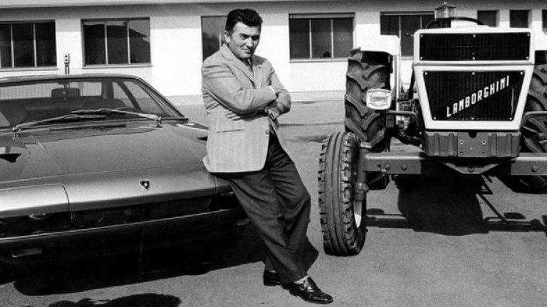 В началото на 60-те години Lamborghini произвежда трактори и автомобили