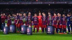 През 2015-а Барселона за последно спечели Шампионската лига.