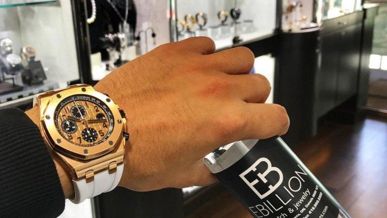 Шопингът на луксозни стоки като този часовник също е на мода сред богати деца на Instagram, както става ясно от профила на бизнесмена Марк Маргулийс от Маями.
