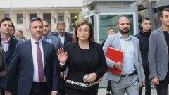 Лидерът на социалистите заяви ясна подкрепа за Румен Радев и остави отворена врата за преговори с ПП