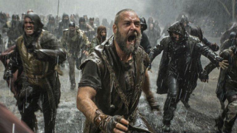"""""""Ной"""" с Ръсел Кроу е само началото на новата вълна холивудски екранизации по Библията. Следват Крисчън Бейл като Мойсей и Брад Пит като Пилат Понтийски."""