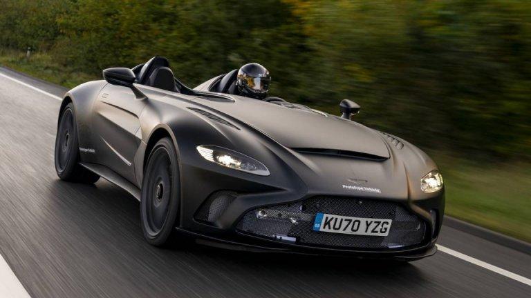 От компанията залагат големи надежди на своя лимитиран Speedster V12