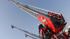 400 кв. м. кино-декори са опожарени