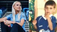 Алекс Грийнууд и Кирил Десподов - и двамата са обличали и синьо, и червено.