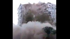 Гръцки остров е наводнен, а в Турция има рухнали сгради. Трусът бе усетен и у нас