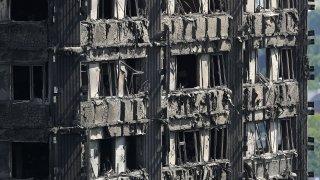 Лондонската полиция и пожарна уточняват, че пожарът вече е овладян