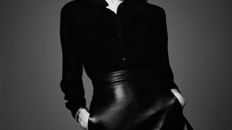 Анджелина Джоли в черно и бяло