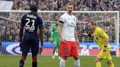 Златан Ибрахимович вече има 86 гола в шампионата на Франция