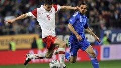 Полша и Гърция завършиха 0:0 в контрола, играна миналата година