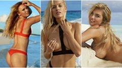 Каролине Возняцки, Микаела Шифрин и Пейдж Спиранак са трите спортистки, които попаднаха в Топ 100 на Maxim за най-горещите жени в света за 2018 година. За №1 в класацията бе избрана Кейт Ъптън. Вижте повече в галерията...