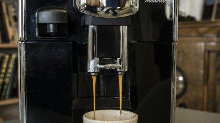 Да се направи хубаво кафе не е лесна задача. Изисква се много хубаво кафе и много хубава машина