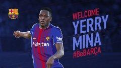 23-годишният Йери Мина вече е играч на Барселона