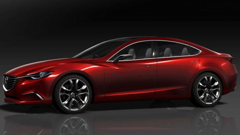 Mazda Takeri най-вероятно ще се прероди в следващото поколение Mazda 6
