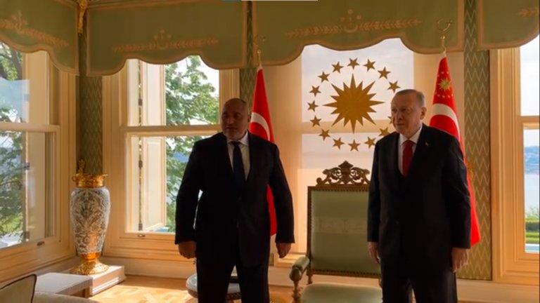 Лидерът на ГЕРБ благодари на турския президент за помощта със справяне с мигрантската криза