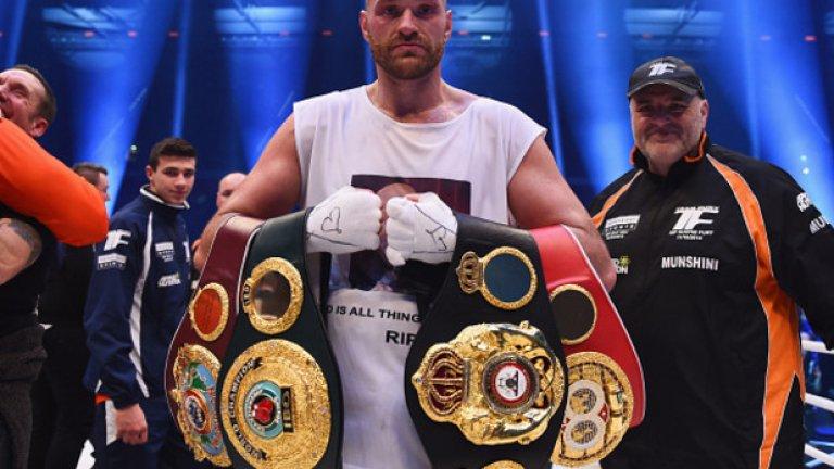 Победата над Кличко, когато стана световен шампион, ще остане в историята като последният мач на Тайсън Фюри