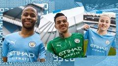 Защо на новия екип на Манчестър Сити е изписано 93:20?