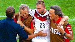 Крамер не помни първото полувреме на финала срещу Аржентина