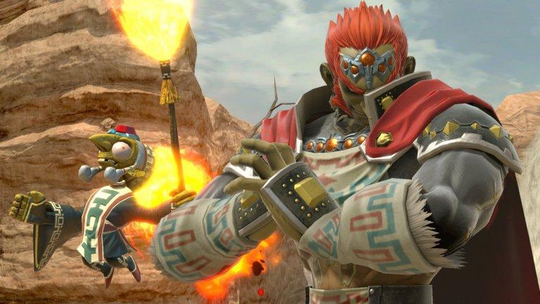 Ganondorf - The Legend of Zelda: Wind Waker  Сблъсък между Link и Ganon е нещо задължително във всяка една игра от поредицата. Тук обаче за първи път са представени целите и мотивите му за завладяване на кралството Hyrule. Самият двубой е впечатляващ на фона на водопади, а пък краят на Ganondorf е зрелищен с Link, който забива меча си в челото на могъщия злодей.