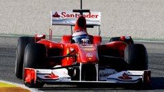 F10 за момента е най-бързата от новите коли, а Алонсо завърши тези изпитания с най-доброто време за седмицата