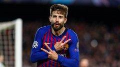 Жерар Пике сподели доста любопитни подробности от съблекалнята на Барселона