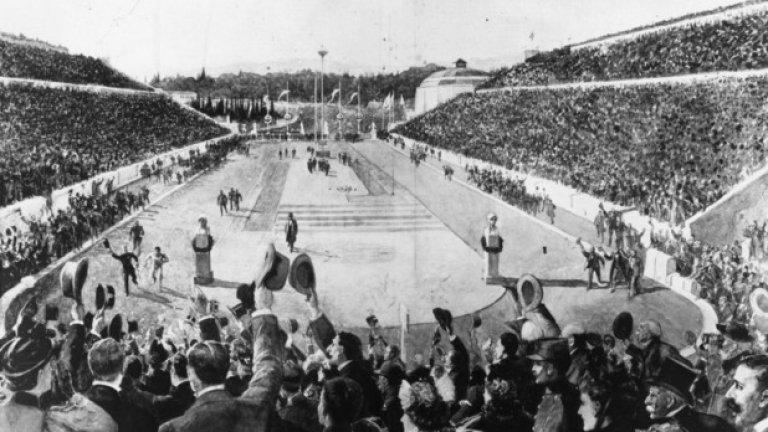 1. Атина 1896: Каретата на лъжата По време на маратона, Спиридон Белокас преминава част от състезанието, возейки се на карета. По някакъв начин обаче не успява да спечели, а финишира едва трети.