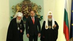 Патриарх Кирил е недоволен, че Русия се приравнява към другите народи, участвали в освободителната война