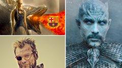Вижте в галерията кой кой е в съвременния футболен Game of Thrones.