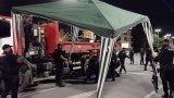Операцията в столицата е започнала около 4 часа сутринта, а към момента движението по блокираните кръстовища е възстановено