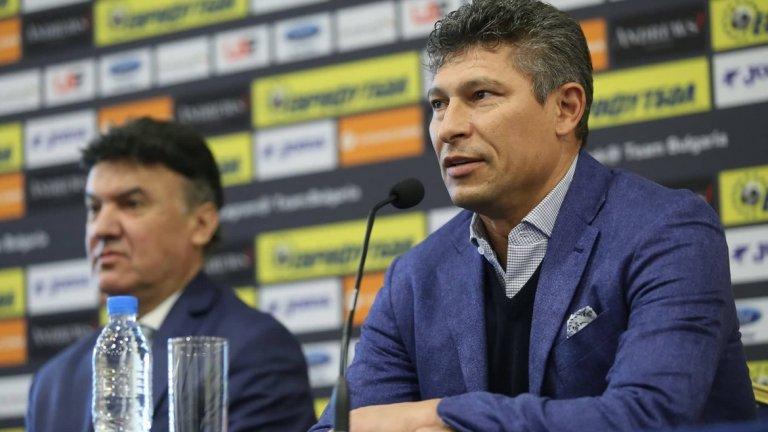 Красимир Балъков ще дебютира като национален селекционер на 7 юни срещу Чехия