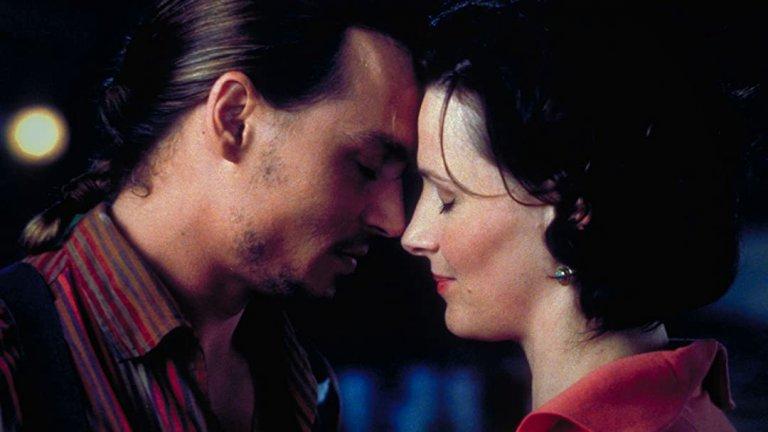 """""""Шоколад"""" Първата си (и единствена засега) номинация за """"Оскар"""" за най-добра актриса в главна роля  Жулиет получава за играта си в мелодрамата """"Шоколад"""" (Chocolat, 2000) на Ласе Хелстрьом. Филмът е направен по романа на Джоан Харис, а шоколадовата страст между Бинош и Джони Деп го прави един от най-приятните за гледане любовни филми въобще."""