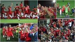 Футболните фенове в Гибралтар изживяха велики моменти в последните дни, когато бяха постигнати първите две победи в официални мачове в историята на страната