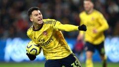 Бразилецът е сред малкото радости за феновете на Арсенал напоследък