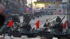 Три дни траяха репетициите за най-грандиозния от разпадането на СССР парад в чест на победата във Втората световна...