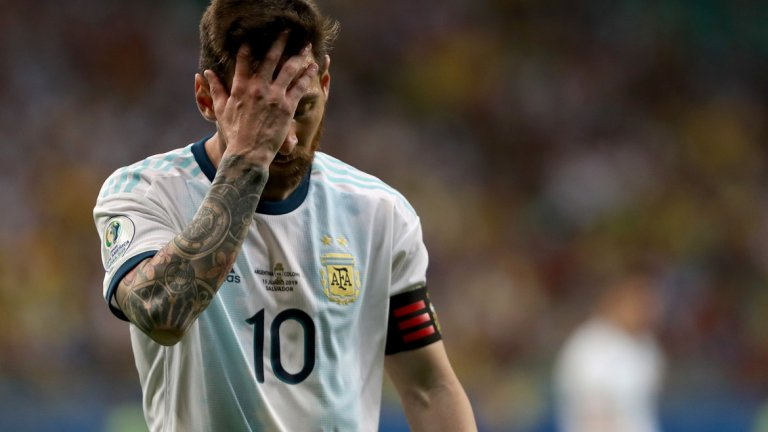 Меси преживя поредно разочарование с националния отбор.