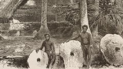 Остров Яп пази вековна история върху монети от камък