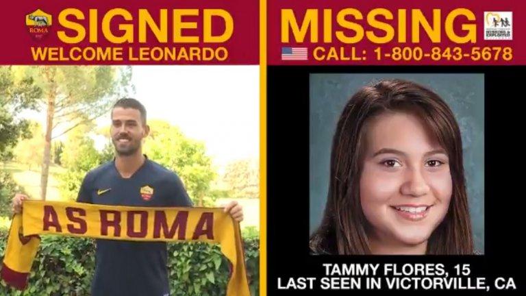 Във всяко видео Рома показва лицата и имената на изчезнали деца в САЩ и Италия, както и телефонния номер, на който всеки с полезна информация за случая може да се обади.