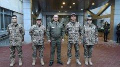 Екипът е част от Мисията на ЕС за обучение на местните сили за сигурност