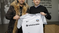 Николай Михайлов се завърна в Левски
