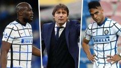 Кошмарът с финансите на Интер: Могат ли Лаутаро, Лукаку и Конте да си тръгнат след шампионския сезон?