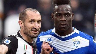 Киелини и Балотели неведнъж са били съперници на терена, но играха заедно в националния отбор на Италия