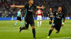 Каземиро вкара във втори пореден финал след този на Шампионската лига. Голът му във вратата на Де Хеа обаче беше от засада