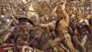 Най-голямата загуба на Римската империя е дело на немски бунтовник