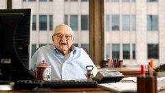 Ървинг Кан, най-старият инвестиционен банкер, е на мнение, че икономическият спад е незначителен