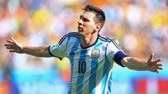 Меси дърпа Аржентина напред - 4 гола в три мача.
