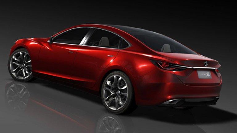 """Външният вид на Takeri е подчинен на новия """"дизайнерски език"""", налаган в Mazda"""